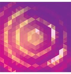 Purple halo vector