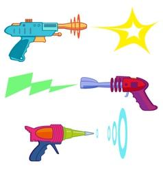 Ray gun vector