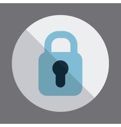 padlock design vector image