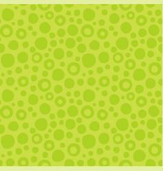 abstract green seamless pattern circles vector image
