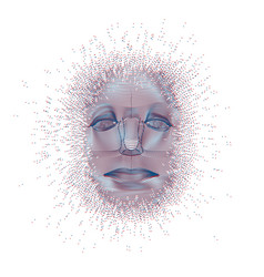 Ai face vector