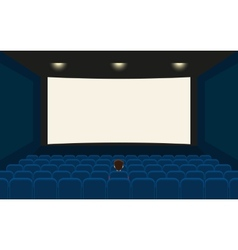 Empty cinema vector