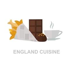 England food vector image