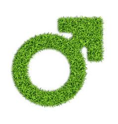 Gender marks from grass -03 vector