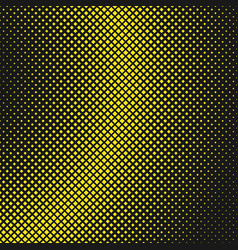halftone square pattern background design vector image