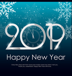 Happy new year or christmas background vector