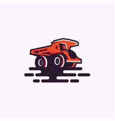 Truck logo download vector