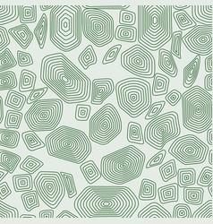 Turtle seamless pattern green tortoise terrapin vector