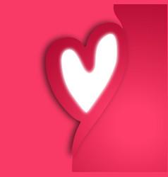 creative heart vector image