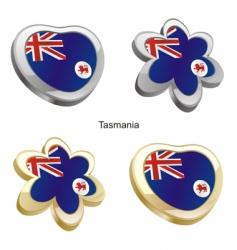 flag of Tasmania vector image
