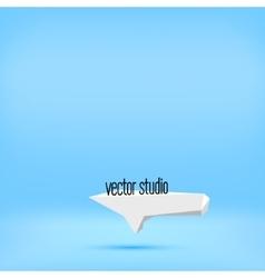 blue studio room backdrop background vector image