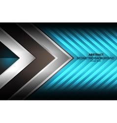 Background geometric blue vector