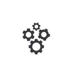 Gear logo template vector