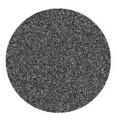 halftone circle banner vector image
