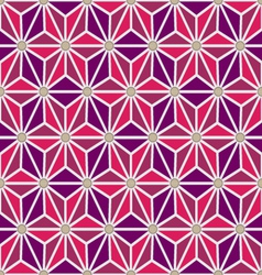 Seamless hexagon pattern vector