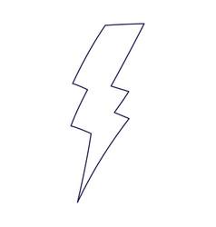 Thunderbolt energy power volt electric icon vector