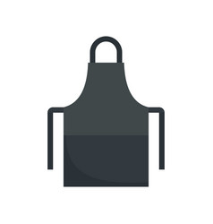Work apron icon flat style vector
