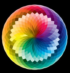 rainbow pattern vector image vector image