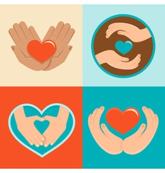 charity vector image