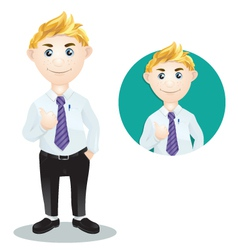 Character Work vector image vector image