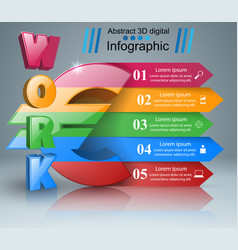 euro work icon business infographics vector image