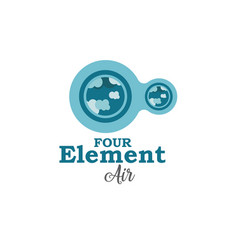 four element air vector image vector image