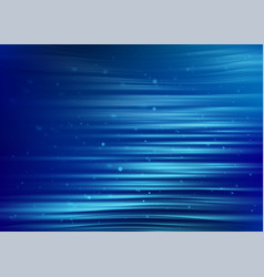 abstract blue background with light dot particles vector image