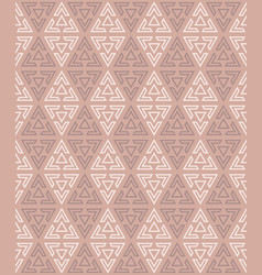 background from seamless triangular pattern vector image