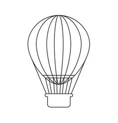 Ballon holiday icon vector