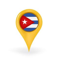 Location Cuba vector
