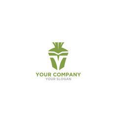 t spartan logo design vector image