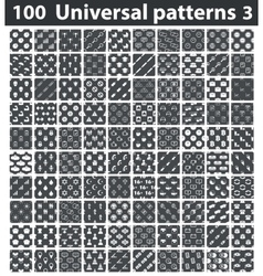 Universal patterns set 3 vector