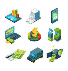 Digital banking online bank transaction vector