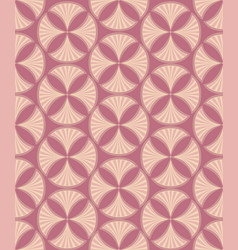 floral seamless pattern brocade retro ornament vector image