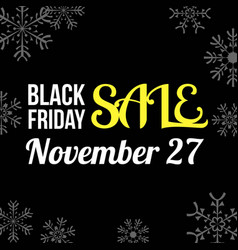 for business black friday sale vector image