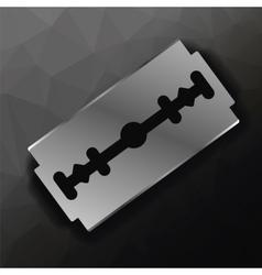 Metal Razor Blade vector