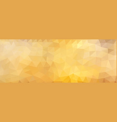 polygon background honey wide screen vector image