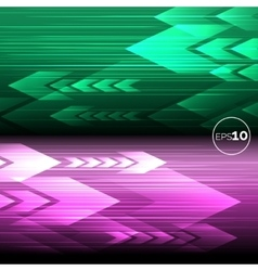 Abstract tech motion lines backgrounds vector image vector image