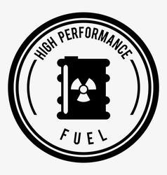 fuel industry vector image