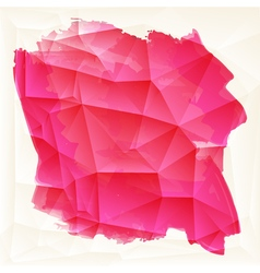 Abstract background with watercolor element vector