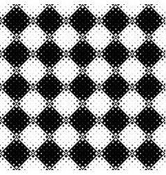 abstract monochrome diagonal square pattern vector image