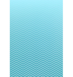 Abstract striped wavy lines pattern on blue vector