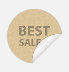Best sale paper sticker vector image