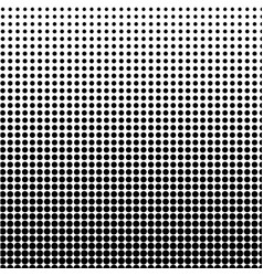 Halftone background black-white dot vector