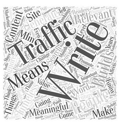 MLM Marketing and Building Traffic for Your Site vector