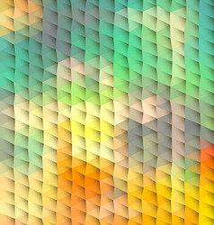 Plastic abstract polygonal background vector image