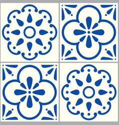 portuguese-tiles-design-pattern-2-a vector image