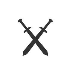 Sword design template vector