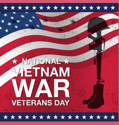 Veterans day banner vector