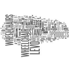 Wheelchair power combo text word cloud concept vector